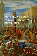 Cover for Information and Communication in Venice