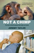 Cover for Not a Chimp