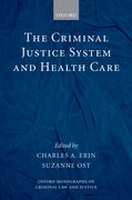 Cover for The Criminal Justice System and Health Care
