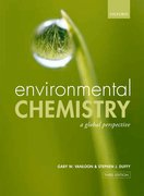 Cover for Environmental Chemistry