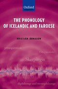 Cover for The Phonology of Icelandic and Faroese