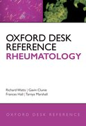 Cover for Oxford Desk Reference: Rheumatology