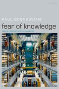 Cover for Fear of Knowledge
