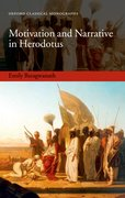Cover for Motivation and Narrative in Herodotus