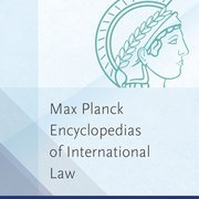 Cover for Max Planck Encyclopedia of Public International Law