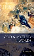 Cover for God and Mystery in Words