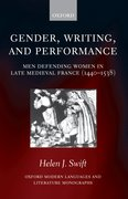 Cover for Gender, Writing, and Performance