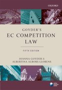 Goyder's EC Competition Law 5e