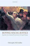 Buying Social Justice Equality, Government Procurement, & Legal Change