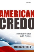 Cover for American Credo