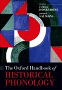 Cover for The Oxford Handbook of Historical Phonology