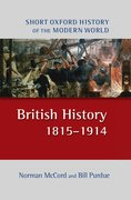 Cover for British History 1815-1914 2/e