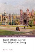 Cover for British Ethical Theorists from Sidgwick to Ewing