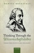 Cover for Thinking Through the Wissenschaftslehre