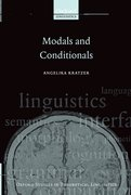 Cover for Modals and Conditionals