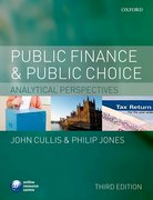 Cover for Public Finance and Public Choice