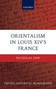 Cover for Orientalism in Louis XIV