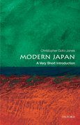 Cover for Modern Japan: A Very Short Introduction