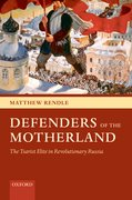 Cover for Defenders of the Motherland