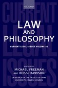 Cover for Law and Philosophy