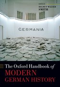 Cover for The Oxford Handbook of Modern German History