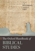 Cover for The Oxford Handbook of Biblical Studies
