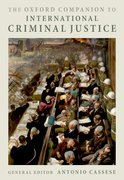 Cover for The Oxford Companion to International Criminal Justice