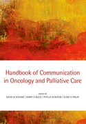Cover for Handbook of Communication in Oncology and Palliative Care