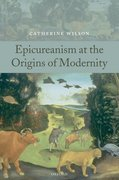 Cover for Epicureanism at the Origins of Modernity