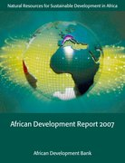 Cover for African Development Report 2007