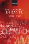 Cover for Tense and Aspect in Bantu