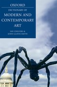 Cover for A Dictionary of Modern and Contemporary Art