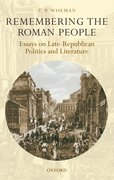 Cover for Remembering the Roman People