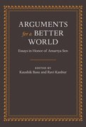 Cover for Arguments for a Better World: Essays in Honor of Amartya Sen