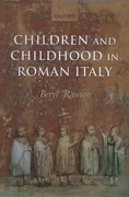 Cover for Children and Childhood in Roman Italy