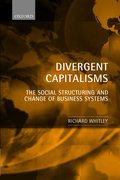 Cover for Divergent Capitalisms