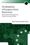 Cover for The Modalities of European Union Governance