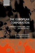 Cover for The European Corporation