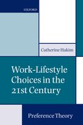 Cover for Work-Lifestyle Choices in the 21st Century