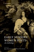 Cover for Early Modern Women Poets