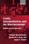 Cover for Credit, Intermediation, and the Macroeconomy