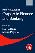 Cover for New Research in Corporate Finance and Banking