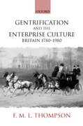 Cover for Gentrification and the Enterprise Culture