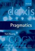 Cover for Pragmatics