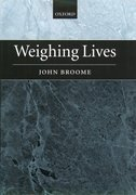 Cover for Weighing Lives