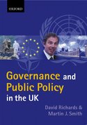 Cover for Governance and Public Policy in the UK