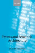 Cover for Events and Semantic Architecture