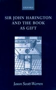 Cover for Sir John Harington and the Book As Gift