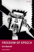 Cover for Freedom of Speech