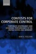 Cover for Contests for Corporate Control